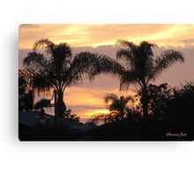 First Day of Spring ~ Florida Sunset  Canvas Print