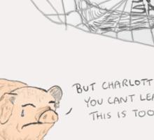Charlotte's Web + The Office Sticker