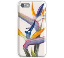 Strelitzia Flowers iPhone Case/Skin