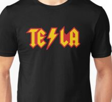 Tesla vs. AC/DC (Monsters of Grok) Unisex T-Shirt