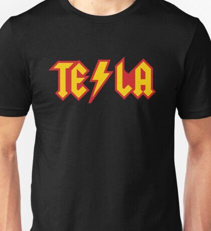 Tesla vs. AC/DC (Monsters of Grok) Unisex T-Shirt
