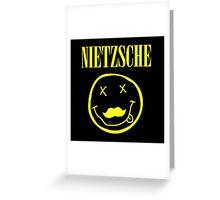 Nietzsche / Nirvana (Monsters of Grok) Greeting Card