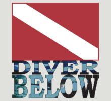 Diver Below Red Flag T-Shirt