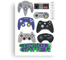 Console Gamer! Canvas Print