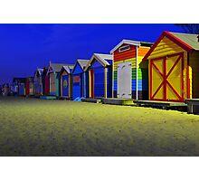 Melbourne  Beach house Photographic Print