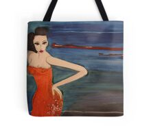 Dita , Art Work Donated for Children's Hospital. At Chalk Hotel 2007. Tote Bag