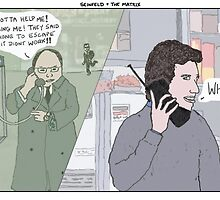 Seinfeld + The Matrix by altanimus