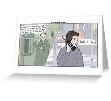 Seinfeld + The Matrix Greeting Card