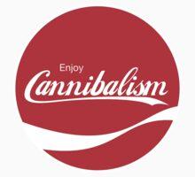 Enjoy Cannibalism (sticker) by Surpryse