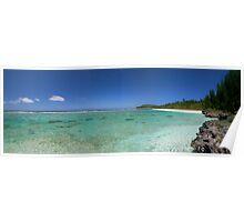 New Caledonia - Plage de Shini Poster