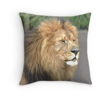 Aslan Captured Throw Pillow