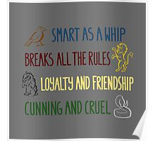 Wizarding School Poster