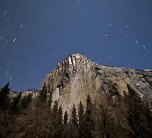 El Capitan By Night by Philip Wong