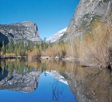 Mirror Lake - Yosemite National Park by Philip Wong