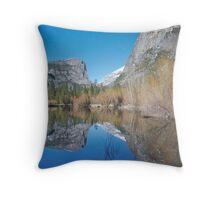 Mirror Lake - Yosemite National Park Throw Pillow