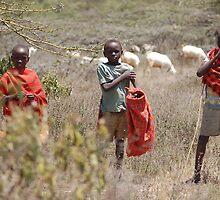 Shepherd Boys by ApeArt