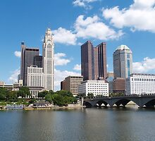 Columbus, Ohio Skyline  by alisacourtney