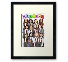 The Broadway Matildas Framed Print