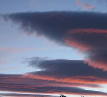 UFO CLOUDS 2 by Harriette Knight