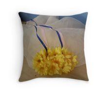 Thelmas Janet - Modesty - a virtue name  Throw Pillow