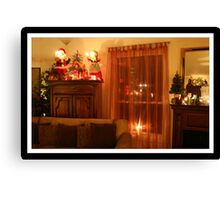 No Place like Home for the holidays Canvas Print