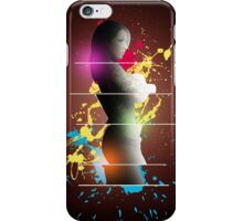 cool woman  iPhone Case/Skin