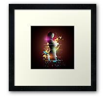 cool woman  Framed Print
