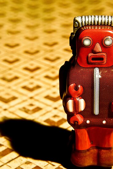 Tin Toy by Jean Beaudoin