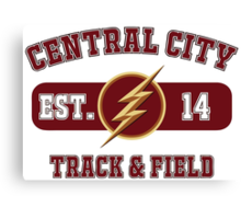 Central City Track & Field Canvas Print