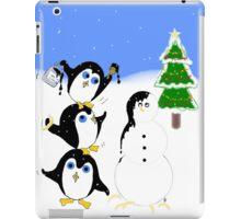 Christmas Penguins iPad Case/Skin