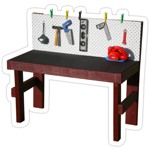 Workbench by StickerNuts