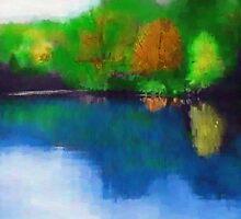 Deep Fall on the lake by ChrisR