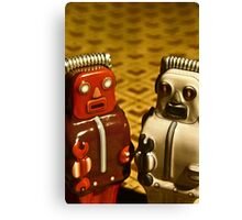 Tin Toys Canvas Print
