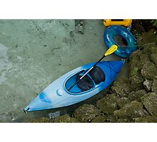 Kayak & Tube Photographic Print