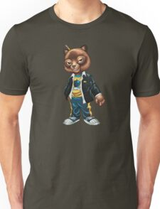 Cool For School Cat Drawing by Al Rio Unisex T-Shirt