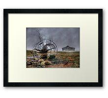 Foggy Dawn Framed Print