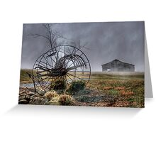 Foggy Dawn Greeting Card