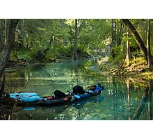 Kayak in the Spring Photographic Print