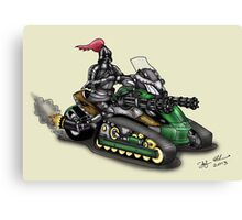 STEAMPUNK 'CAN AM' SPYDER STYLE KNIGHT RIDER MOTORCYCLE Canvas Print