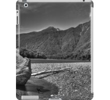 Mountain Stream BW iPad Case/Skin