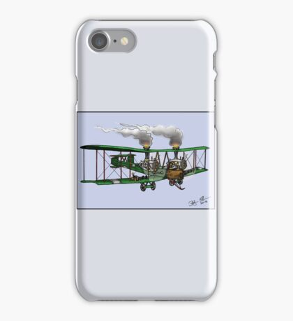 WORLD WAR ONE BOMBER AEROPLANE VICKERS VIMY STYLE STEAMPUNK iPhone Case/Skin