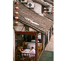Tea Room Photographic Print