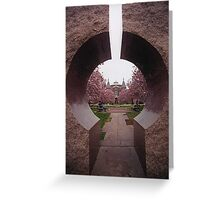 The African Museum-Smithsonian Institute   Washington D.C.  Greeting Card