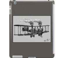 WW1 VICKERS VIMY AEROPLANE BOMBER STEAMPUNK (BLACK AND WHITE) iPad Case/Skin