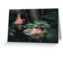 Enchanted Pond Greeting Card