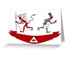 Corporate Krampus Greeting Card