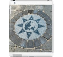 Compass directions wind rose iPad Case/Skin