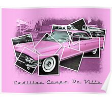 Cadillac Photo Montage Poster
