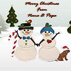 Merry Christmas from Nana & Papa by Ann12art