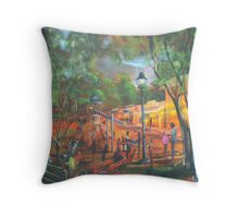 Imperial Sunset - Eumundi Queensland Throw Pillow
